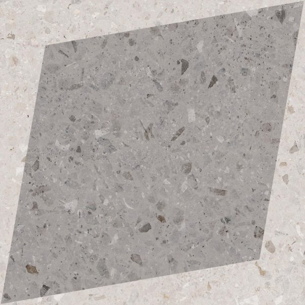 Rhombus Decor - Grey