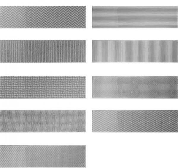 Gradient Decor - Silver Gloss