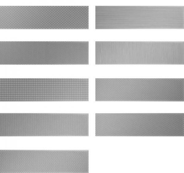 Gradient Decor - Silver Matt