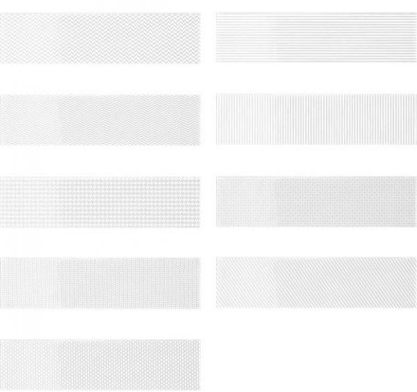 Gradient Decor - White Gloss