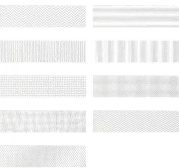 Gradient Decor - White Matt