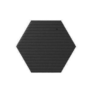 Mini Hexa Canale - Graphite Matt