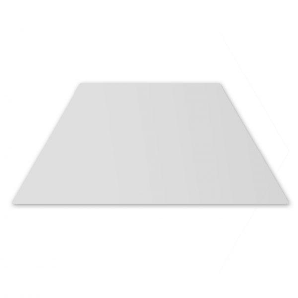 Trapezium Floor - Ice White Matt