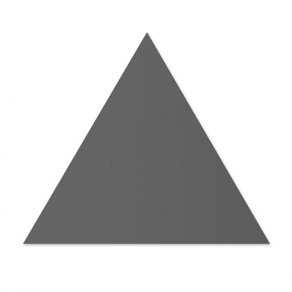 Triangle Floor - Graphite Matt
